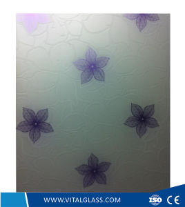 4mm, 5mm, 6mm, 8mm, 10mm Acid Etched Glass Figured/Patterned Building Glass pictures & photos
