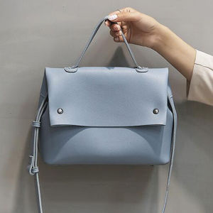 Wholesale Factory Price Women PU Leatrer Handbags Simple Style Lady Shoulder Bag Sy8515 pictures & photos