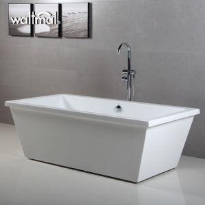 Popular Cheap Acrylic/ABS Bath Tub Freestanding pictures & photos