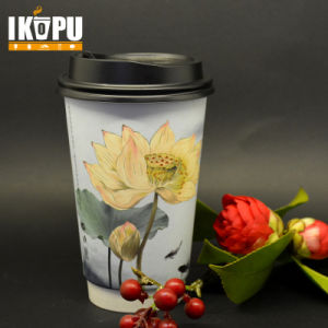 Food Grade Double PE Disposable Paper Cup and Cold Drink Cup pictures & photos