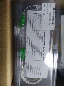 1*8 0.9mm Steel Tube Mini Fiber Optic PLC Splitter with Sc/APC Connector pictures & photos