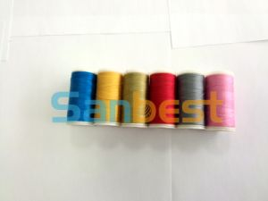 100% Spun Polyester Sewing Thread on Small Reels pictures & photos