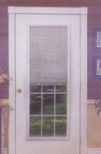 Blinds for Steel and Fiberglass Doors