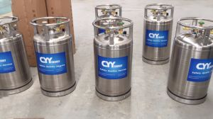 Good Quality High Pressure Cryogenic LNG Lco2 Cylinder Dewar with Famous Brand Cyy Energy pictures & photos