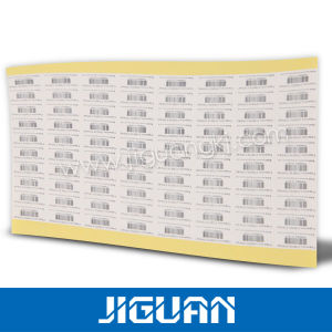 Roll Blank Thermal Transfer Barcode Shipping Label pictures & photos