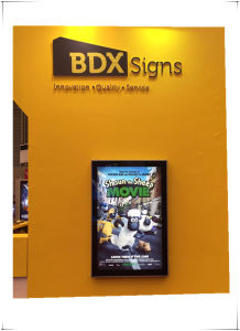 Single Sided Scrolling Light Box Waterproof Aluminum Profile for Outdoor Advertising Signs-138# pictures & photos