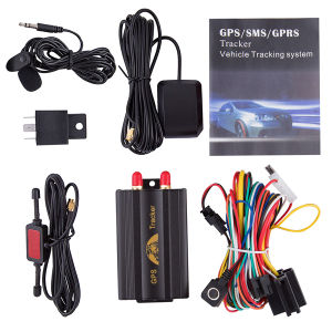Fuel Monitoring GPS Vehicle Tracker Car GPS103A with Microphone, Relay pictures & photos