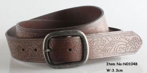 2017 Fashion Men PU Leather Belt (NO1048) pictures & photos