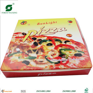 Corrugated Kraft Paper Pizza Box pictures & photos