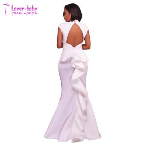 Trendy White Dress Woman Sexy Evening Clothes (L5028) pictures & photos