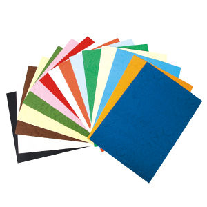 Shrink Packing Color 230GSM Marble Paper Cover pictures & photos