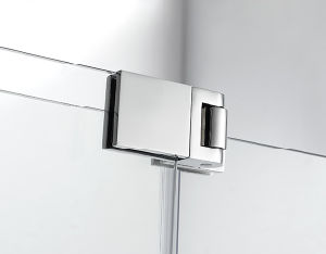 Hotcake Frameless Stainless Steel Pivot Shower Door Room Enclosure pictures & photos