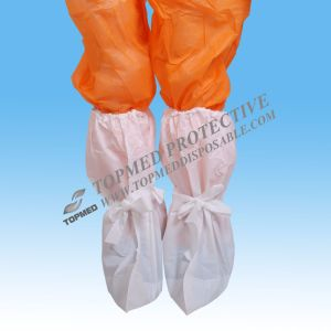 Printing Shoe Cover; SMS Anti-Slip Boot Cover; PP No-Skid Shoecover pictures & photos