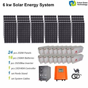 10k Watts Home Renewable Energy Solar Power System pictures & photos