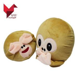 2017 Hotsale New Design Soft Monkey Plush Cushion pictures & photos