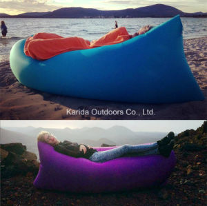 Comfortable Durable Chair Air Bed Self Inflatable Banana Lounge Sofa pictures & photos