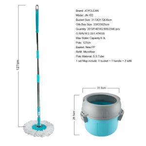 Joyclean New Single Bucket 360 Spin Magic Mop pictures & photos
