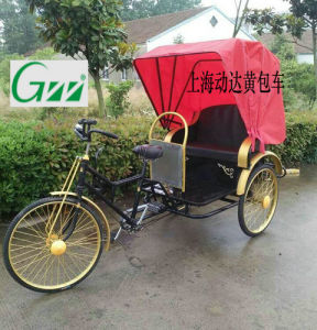 Human Power Passenger Tricycle 3wheels pictures & photos