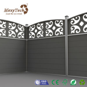 Modern Garden Composite Fencing Lattice Wood Fence for Backyard pictures & photos