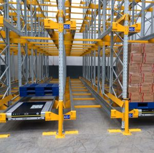 Auto Shuttle Car for High Density Pallet Storage pictures & photos