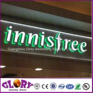 Custom Design Chrome Injection Mold LED Advertising Pylon Sign pictures & photos
