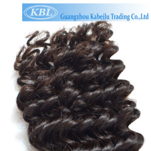Top Quality Brazilian Loose Curly Virgin Human Hair Weaving pictures & photos