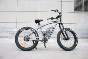 Harly Style Big Power Fat Tire Ebike 500W pictures & photos