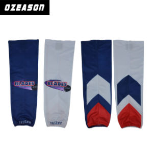 Factory Direct Wholsale Cheap Custom Sublimated Ice Hockey Socks pictures & photos