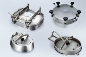 Sanitary Manhole Covers for Food Industry Manway pictures & photos
