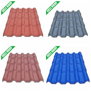 Sound Absorption Plastic Roof Tiles Terracotta pictures & photos