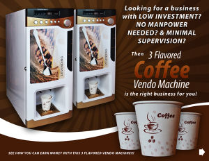 Korea Cafe/Coffee Vending/Vendo Machine