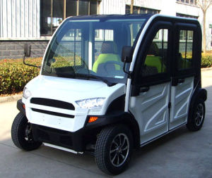 New Model Street Utility Electric Car with 4 Seats