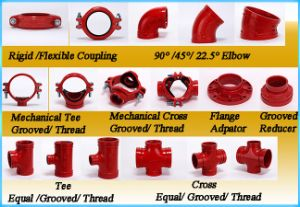 Ductile Iron Grooved Flange Adaptor with FM/UL Approved pictures & photos