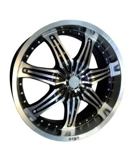 Seven Spokes Tree Machined Line Alloy Wheel (UFO-1412) pictures & photos