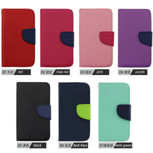 Flip Leather Case for Wiko Lenny 3/Tommy/U Feel Lite pictures & photos