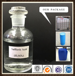 Industrial Sulfuric Acid Price for Industrial/Reagent/Food 98% pictures & photos