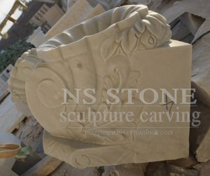 White Marble Fountain with Beauty Maiden for Home Garden Mf-048 pictures & photos