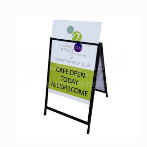 "Business Yard Signs for Real Estate & Election Campaigns Pop up Advertising Promotional Equipment Portablea Frame Sidewalk24""X36"" Display Outdoor Stand pictures & photos"