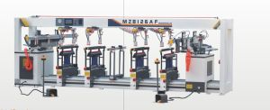 Multi-Axis Wood Boring Machine with Chucks and Pneumatic Clamps pictures & photos