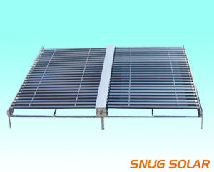 Non-Pressurized Vacuum Tube Solar Collector for Project pictures & photos