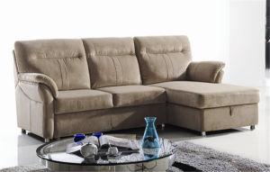 Extended Sofa Bed 722# pictures & photos