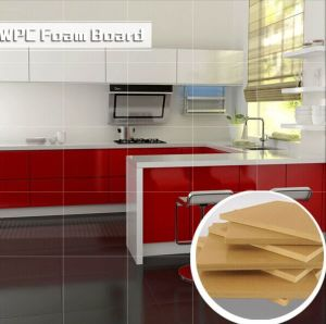 Waterproof and Envionmental WPC Foam Board for Kitchen Cabinet pictures & photos