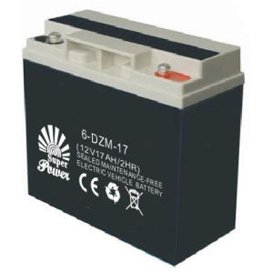 E-Scooter Battery 12V 18AH Deep Cycle Performance Called SP6-DZM-18 pictures & photos