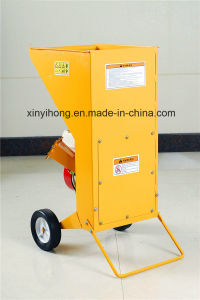 6.5HP Gasoline High Speed Steel Wood Machine Chipper Shredder pictures & photos