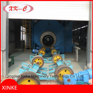 Steel Pipe Outer Removing Rust Shot Blasting Cleaning Machine pictures & photos