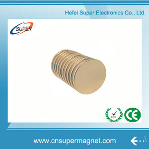High Grade Neodymium Ultra Thin Disc Magnet pictures & photos