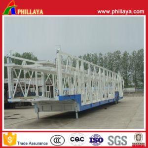 2 Axles Car Hauler Trailer/Car Carrier/Transport Car Semi Trailer (PLY9432SDWL) pictures & photos