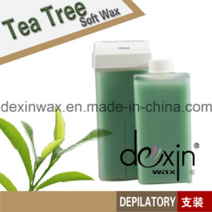 100ml Tea Tree Soft Depilatory Wax Roll-on (Cream)