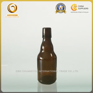 High Quality 330ml Amber Glass Beer Bottle with Ceramic Swing Top (474) pictures & photos