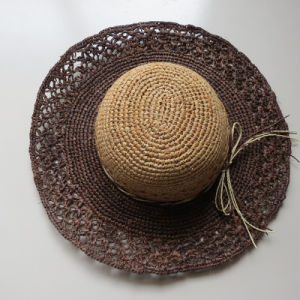 Leisure Crochet Paper Hat for Women pictures & photos